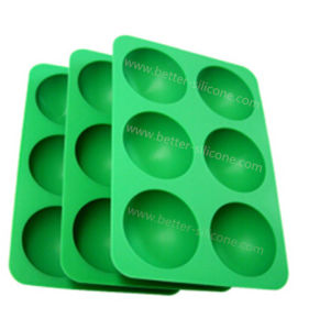 Customized Food Safe Silicone Ice Cube Trays pictures & photos