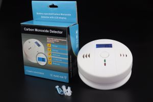 Wired Wireless Co Detector with Back up Battery (ES-6906C) pictures & photos