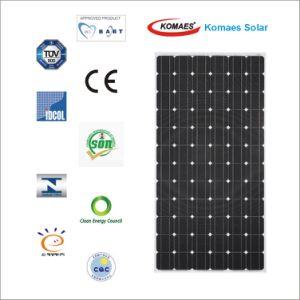 300W Monocrystal Solar Module with TUV, CE, Mcs, Cec, Soncap, Inmetro, etc Certificates