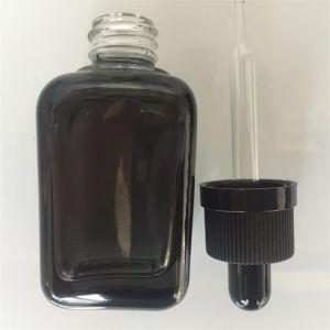 Square Colorful Glass Bottles for Essential Oil, Cosmetic Jar pictures & photos