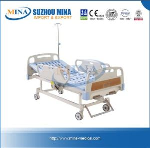 Luxurious Hospital Bed with Double Revolving Levers (MINA-MB104-C)