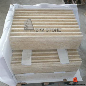 Sunny Beige Marble Skirting Border/ Stone Moulding pictures & photos