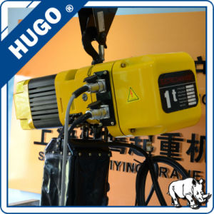 3 Ton Double Speed Electric Chain Hoist Price pictures & photos