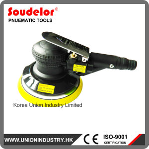 "Best Hand Sander Plastic Body 5"" (6"") Air Powered Orbital Sander with Vacuum Attachment pictures & photos"