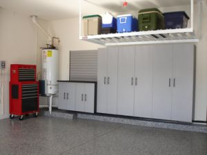 Wire Decking Garage Ceiling Shelves pictures & photos