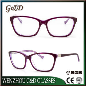 Fashion New Product Acetate Spectacle Optical Frame Eyeglass Eyewear pictures & photos