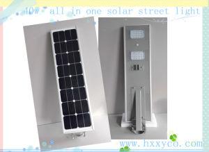40W Outdoor IP65 Bridgelux Solar LED Street Light Price pictures & photos