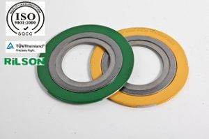 Rilson Asme B 16.20 Spiral Wound Gasket in Ningbo with Central and Inner Ring pictures & photos