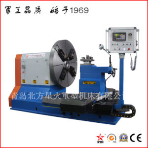 Professional Customized CNC Facing Lathe Machine for Truck Wheel Machining (CK61160) pictures & photos