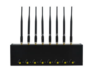 New Adjustable 8 Antennas High Power GPS/ WiFi/ 4G (LTE+Wimax) Cellphone Jammer pictures & photos