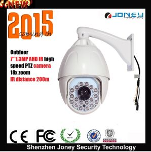 Joney Waterproof Outdoor IR 200m 960p HD PTZ CCTV (CameraPTZ-AHD200- 1.3M) pictures & photos