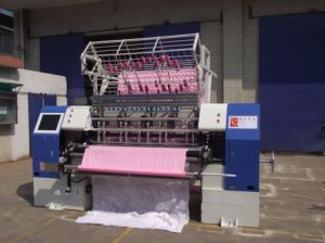 Yuxing Industrial Quilting Machine, Bed Sheet Making Machine, Garment Multi-Needle Machine Equipment pictures & photos
