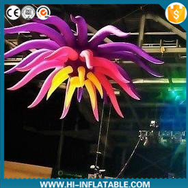 2015 Amazing Inflatable Flower for Stage, Entertainment, Party, Nightclub Decoration