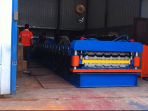 Corrugated Sheet Roll Forming Machine/Roof Machine/Metal Roofing Roll Forming Machine pictures & photos