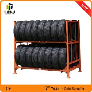 Powder Coat Heavy Duty Tire Rack, Stacking Tire Rack pictures & photos