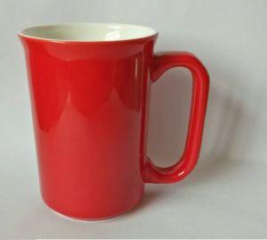 12 Oz Red Glazed Ceramic Mug & Coffee Mug pictures & photos