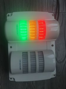 90mm Wall Mounted Three Layer LED Warning Light IP65 for Machine pictures & photos