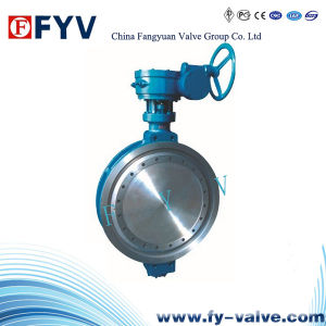API Wafer Double Offset Butterfly Valve pictures & photos