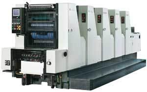 Gh525 Five Colors Offset Press Machine pictures & photos