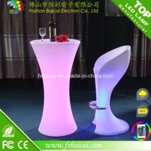 LED Light up Bar Table