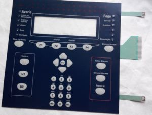 Customizing Round Embossing Polydome Membrane Keypad with Shielding Layer pictures & photos