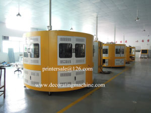 Glass Cup Screen Printing Machine with High Temperature Ink pictures & photos