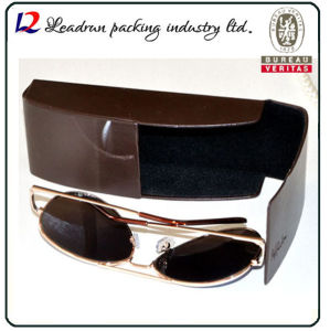 Leather Metal Sunglasses Case Iron Spectacle Case Optical Box Eyeglasses Case for Fashion Sunglasses Optical Wear Optical Glasses (HX291) pictures & photos