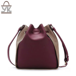 Fashion Ladies PU Leather Designer Bucket Bags pictures & photos