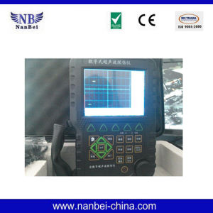 High Resolution Colorful NDT Ultrasonic Flaw Detector pictures & photos