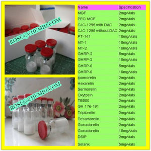 Best Sale Safety Oral Sermorelin White Peptide Powder pictures & photos