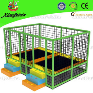 Kids Trampoline with Safety Net, Ladder (14-5-3-1) pictures & photos