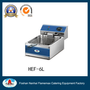 Stainless Steel Electric Chip Fryer (HEF-6L) pictures & photos