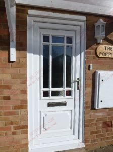 Classical UPVC Casement Entrance Door (BHP-CD36) pictures & photos