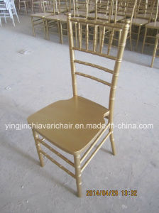Gold Color Beech Wood Chiavari Chair