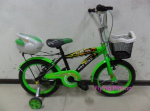 Children Bike with Training Wheel Boy Bicycles (FP-KDB-033) pictures & photos