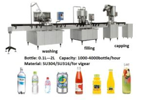 Bottling Machine, Bottle Filling Machine, Mineral Water Filling Machine pictures & photos