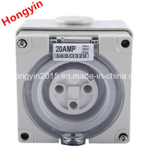56so320 3pin 20A 250V/500V Industry Connector pictures & photos
