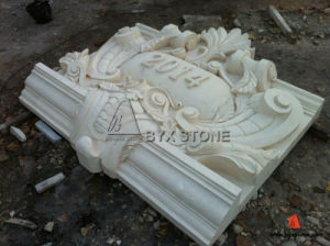 White Marble Stone Building Carving for Decoration pictures & photos