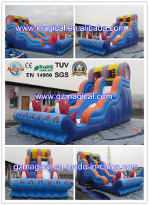 2015 Cheap Summer Inflatable Water Slide for Sale (MIC-945) pictures & photos
