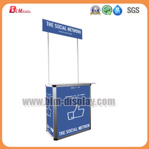 High Quliaty Locked Pop up Promotion Counter Supermarket Promotion Table