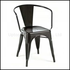 Wholesale Black Lacquer Tolix Arm Chair for Cafe (SP-MC046) pictures & photos