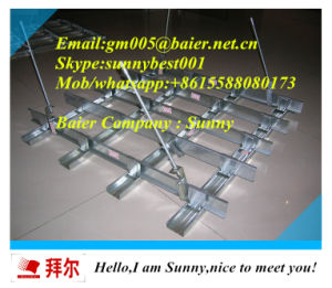 T Type Flat Bar Ceiling / Suspended Ceiling T-Grids pictures & photos