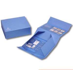 Design Printing Folded Paper Gift Box pictures & photos