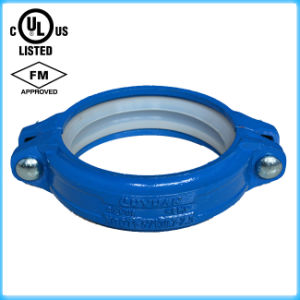 Fire Pipe Fitting Ductile Iron Grooved Rigid Coupling FM/UL Approved pictures & photos
