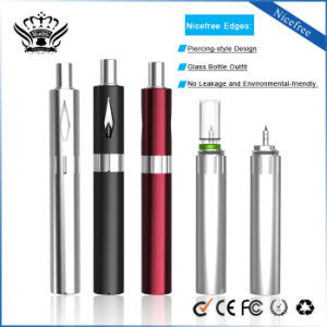 Ibuddy Nicefree 450mAh Glass Bottle Piercing-Style Vaporizer E-Cigarette pictures & photos