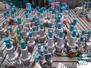 Stainless Steel Safety Valve Spring Relief Valve with Flange pictures & photos