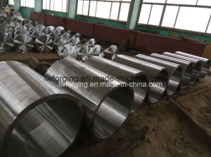 Forged Bush Cylinder Sleeves Hollow Bar Pipe Tube Forging pictures & photos