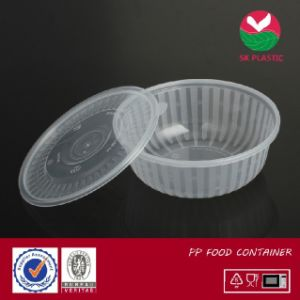 Food Container (clear round cont with lid) pictures & photos