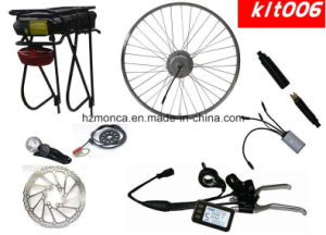 2017 Whole Set Electric Bike Kit with Sumsung Lithium Battery in the Rear Rack pictures & photos