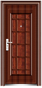 Top Quality Economic Single Steel Doors (EF-S024) pictures & photos